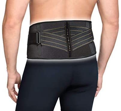 copper fit compression back support  wellness to win